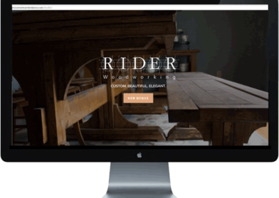 Rider Woodworking
